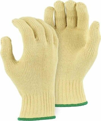 Majestic 3119 Heavyweight Kevlar Knit Gloves - Dozen - Made in USA