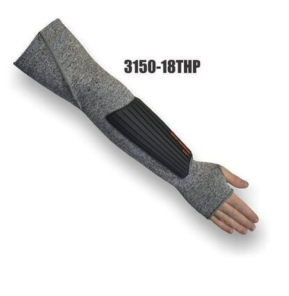 Majestic 3150-18THP 1 Ply Dyneema Sleeves With TPR Pad Cut Level 3