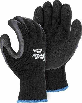 Majestic 3396 Black Polar Penguin Gloves Ansi Cut Level 2