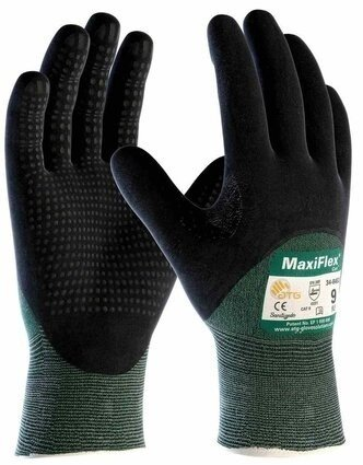PIP MaxiFlex Cut 34-8453 Engineered Yarn 3/4 Coated Cut Level 3 Gloves