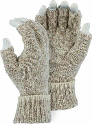 Majestic 3427 Ragg Wool Fingerless Gloves