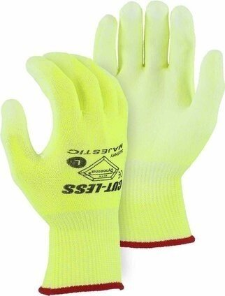 Majestic 3435N Dyneema Hi Vis Gloves Cut Level 3