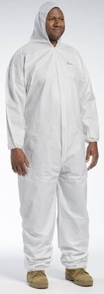 West Chester 3606 Posiwear Breathable Coveralls With Hood, Elastic Wrist and Ankle