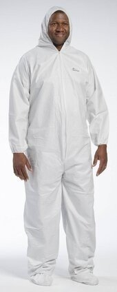 West Chester 3609 Posiwear Breathable Coveralls With Hood, Elastic Wrist and Boots
