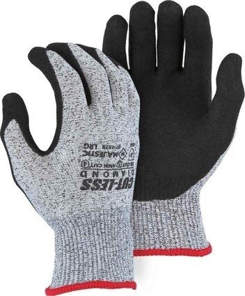 Majestic 37-1575 Dyneema 13-Gauge Cut-Less Diamond Gloves Cut Level 5