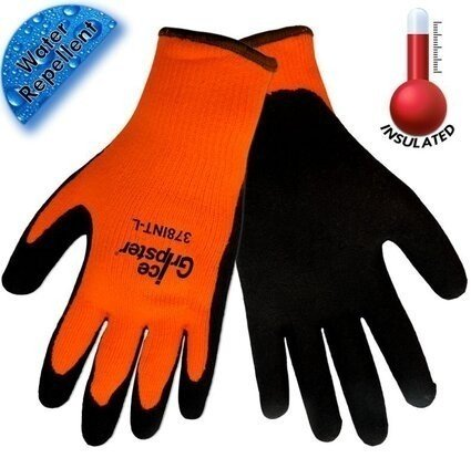 Global Glove Ice Gripster 378INT Hi Vis Cut Resistant ANSI Level A2 Gloves
