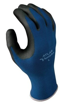 Showa Atlas Ventulus 380 Nitrile Foam Palm Coated Gloves