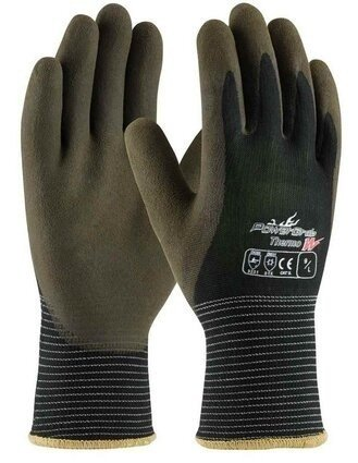 PIP Powergrab 41-1430 Thermo Seamless Knit Nylon Gloves with Warm Acrylic Liner