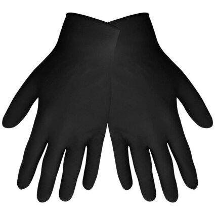 Global Glove 705BPF 5 Mil Black Nitrile Powder Free Gloves