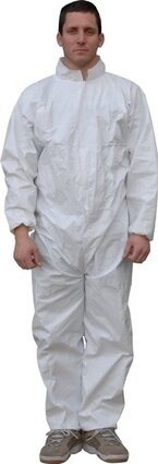 Majestic 74-101 ComforTEX Microporous Coveralls with Elastic Wrist and Ankles