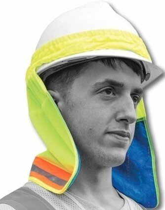 Majestic 75-8071 Polar Penguin Permafrost Hi-Vis Cooling Neck Shade