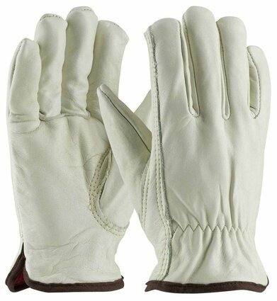 PIP 77-268 Premium Grade Insulated Cowhide Leather Gloves with Red Thermal Lining