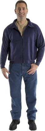 Majestic 91860N BlazeTex FR 3-in-1 Bomber Fleece Zip In Jacket Liner- HRC 3