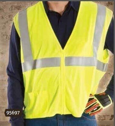 Majestic 95697 BlazeTEX FR High Visibility Woven Safety Vest