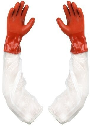 Showa Atlas 640 Long Sleeve Double Dipped PVC Gloves
