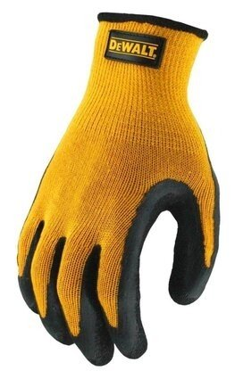 DeWalt DPG70 Textured Rubber Coated Gripper Gloves