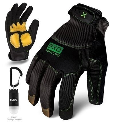 Ironclad EXO Modern Leather Reinforced Gloves