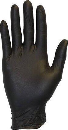 Safety Zone GNEP Black Nitrile Exam Powder Free Gloves