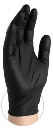 Gloveworks 5 Mil Black Nitrile Powder Free Gloves
