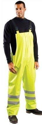 Occunomix LUX-TBIB/FR Premium FR Hi Vis Waterproof Rain Bib Pants
