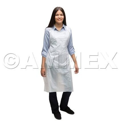 Ammex 1 Mil Disposable Poly Aprons
