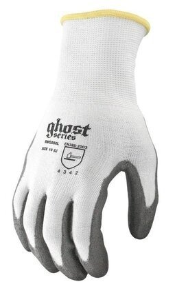 Radians RWG550 Ghost Series Cut Level 3 Work Gloves