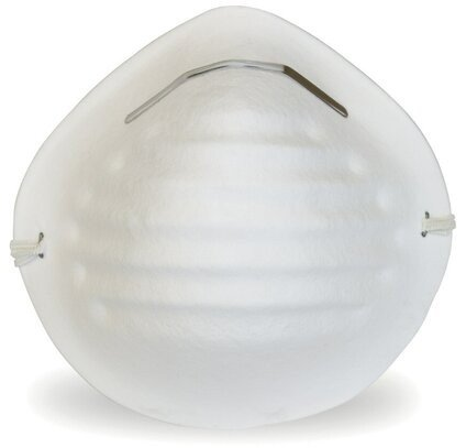 Safety Zone White Cone Mask