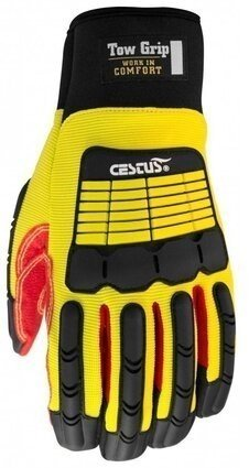 Cestus Tow Grip 3084 Long Cuff Impact Gloves