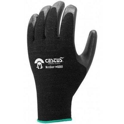 Cestus TAA Compliant 6001 NiteGrip Nitrile Coated Gloves