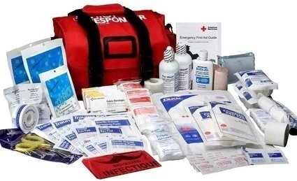 Large First Responder Kit - 158 Piece Bag #520FR