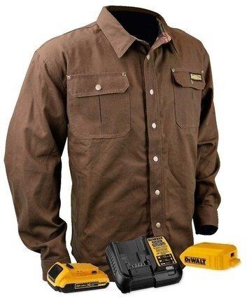 DeWalt DCHJ081TD1 Heavy Duty Heated Shirt Jacket