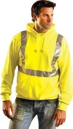 Occunomix Classic Lightweight Hoodie Sweatshirt - ANSI Class 2