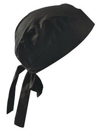 Occunomix Tuff Nougies Tie Hat Doo Rag - Black
