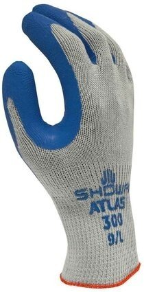 Showa Atlas Fit 300 Gloves - Blue