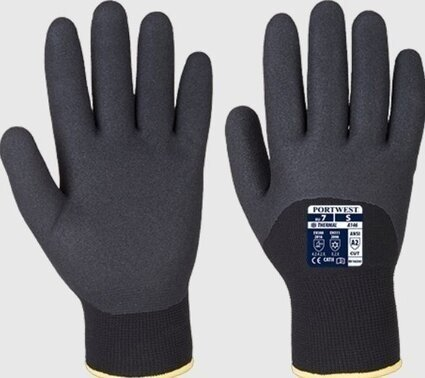 Portwest A146 3/4 Dipped Arctic Winter Gloves
