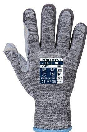 Portwest A630 Razor-Lite Cut Level 4 Gloves - Leather Palm