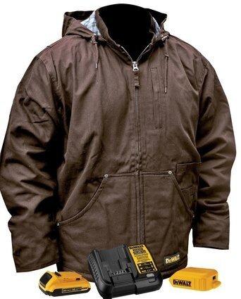 DeWalt DCHJ076ATD1 Heavy Duty Battery Heated Work Jacket
