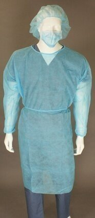 Ultragard UG-ISO-E Elastic Cuff Isolation Gowns