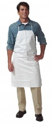 "Keystone Keyguard AP-KG 28"" x 36"" Chemical Resistant  Aprons - Compare To Tyvek"