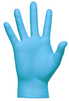 Clean Safety CS430X 4 Mil Nitrile Powder Free Exam Gloves