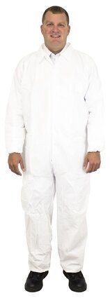Safety Zone Micro Film Tyvek-Like Coveralls