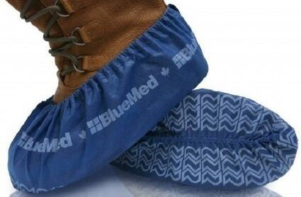 BlueMed Big Foot Pro HD Non Slip Shoe Covers - Size XXL - Made in North America