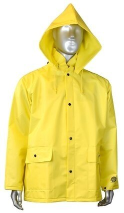 Radians RJ15-NSYV Drirad™28 Waterproof Rain Jacket - Hood Sold Separately