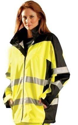 Occunomix Premium Waterproof Rain Jacket - ANSI 3
