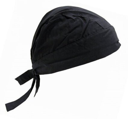 Occunomix Tuff Nougies Tie Hat Doo Rag w/ FR Treatment - Black