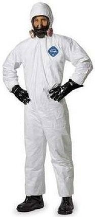 Dupont Tyvek Coveralls with Hood and Elastic Cuffs #TY127