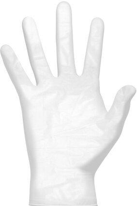 Clean Safety CS210X Clear Vinyl Powder Free Gloves