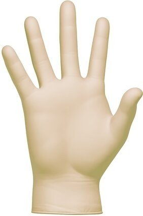 Clean Safety CS300X Yellow Stretch 4 Mil Vinyl Exam Powder Free Gloves