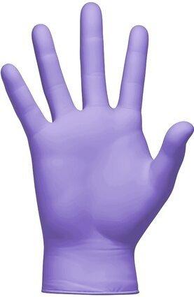 Clean Safety GNF203X  Superb Indigo 3.5 Mil  Powder Free Exam Nitrile Gloves