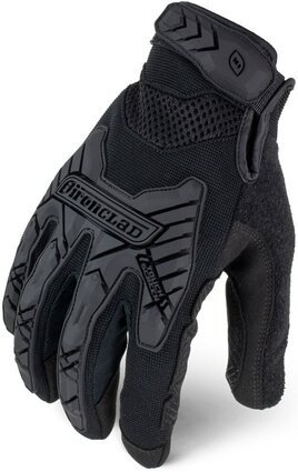 Ironclad Command Tactical Impact Grip Gloves IEXT-GIBLK TAA Compliant